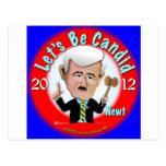 Newt Gingrich Postales