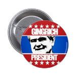 Newt Gingrich - President 2 Inch Round Button