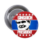 Newt Gingrich - President Pinback Buttons