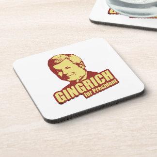 Newt Gingrich Propaganda Beverage Coaster