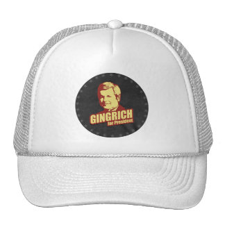 Newt Gingrich Propaganda Trucker Hat