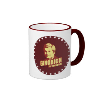 Newt Gingrich Propaganda Ringer Coffee Mug