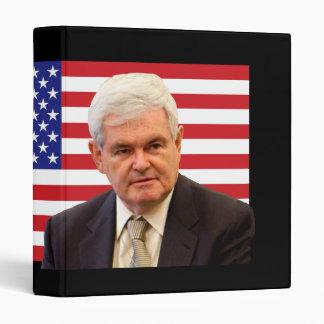 Newt Gingrich - Red, White & Blue Binder