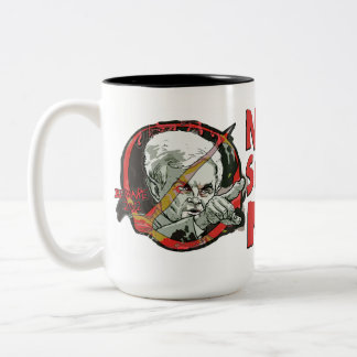 Newt Gingrich Scares Me Two-Tone Coffee Mug