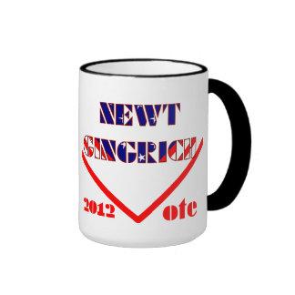 Newt Gingrich Taza De Dos Colores