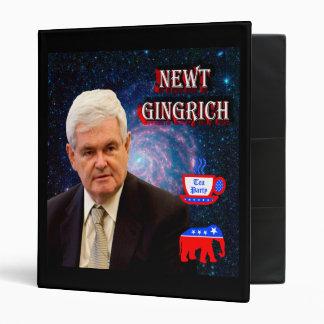 Newt Gingrich - Tea Party - GOP Elephant Binder
