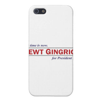 Newt Gingrich The Time is Now President 2012 iPhone 5 Case