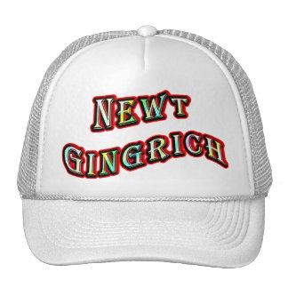 NEWT GINGRICH TRUCKER HAT