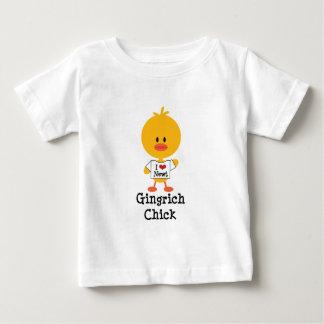 Newt infantil del corazón de la camiseta I del Playera