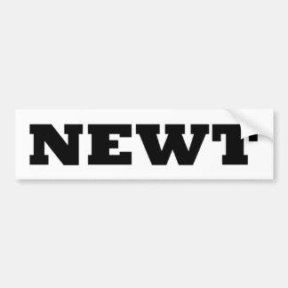 ¡Newt! Pegatina Para Auto