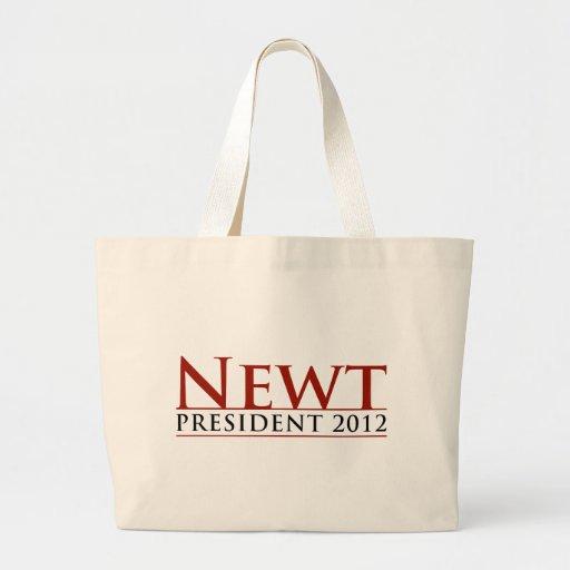 Newt President 2012 Jumbo Tote Bag