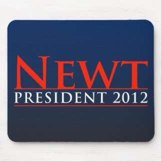 Newt President 2012 Mouse Pad