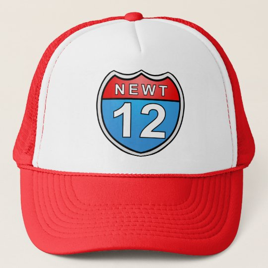 Newt Road to the White House 2012 Trucker Hat