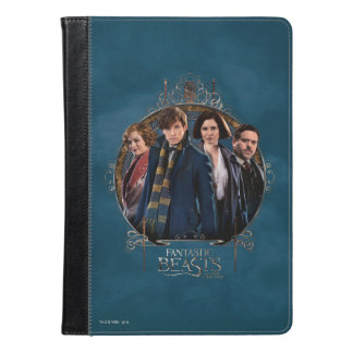 Newt Scamander and Company Art Nouveau Frame iPad Air Case