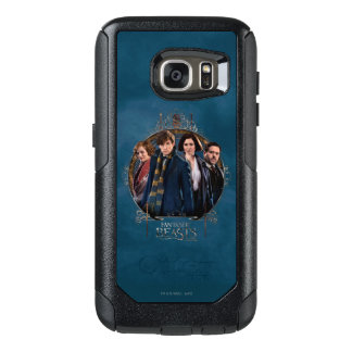 Newt Scamander and Company Art Nouveau Frame OtterBox Samsung Galaxy S7 Case