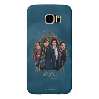 Newt Scamander and Company Art Nouveau Frame Samsung Galaxy S6 Case