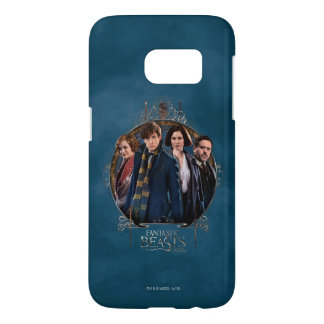 Newt Scamander and Company Art Nouveau Frame Samsung Galaxy S7 Case