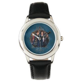 NEWT SCAMANDER™ and Company Art Nouveau Frame Wrist Watch