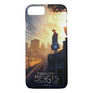 Newt Scamander in Destroyed Building iPhone 7 Case