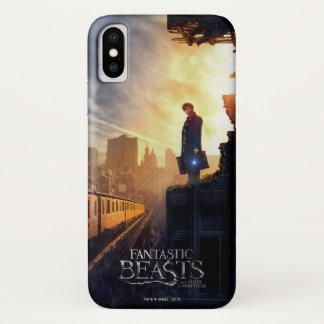 NEWT SCAMANDER™ in Destroyed Building iPhone X Case