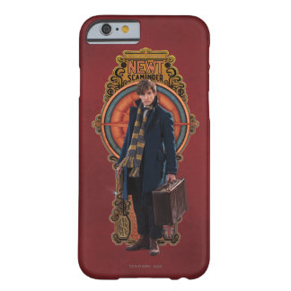 Newt Scamander Standing Art Nouveau Panel Barely There iPhone 6 Case