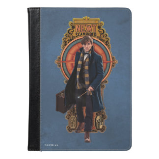 Newt Scamander Walking Art Nouveau Panel iPad Air Case