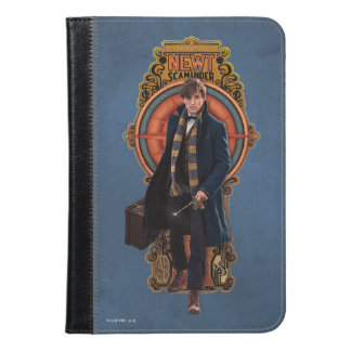 Newt Scamander Walking Art Nouveau Panel iPad Mini Case