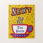 NEWT - Tea Party - Red, White & Blue Puzzle