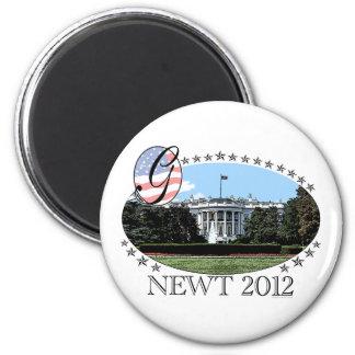 Newt White House 2012 Magnet