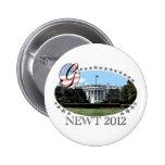Newt White House 2012 Pins