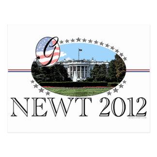 Newt White House 2012 Postcard