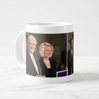 Newt y Calista Gingrich Taza De Café Gigante