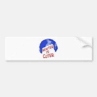 Newter is Cuter Bumper Sticker