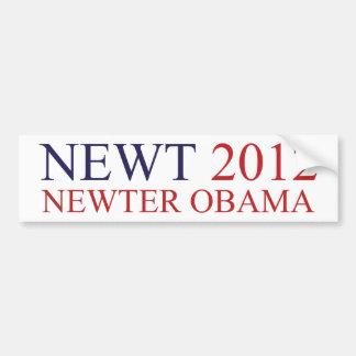 Newter Obama Bumper Sticker