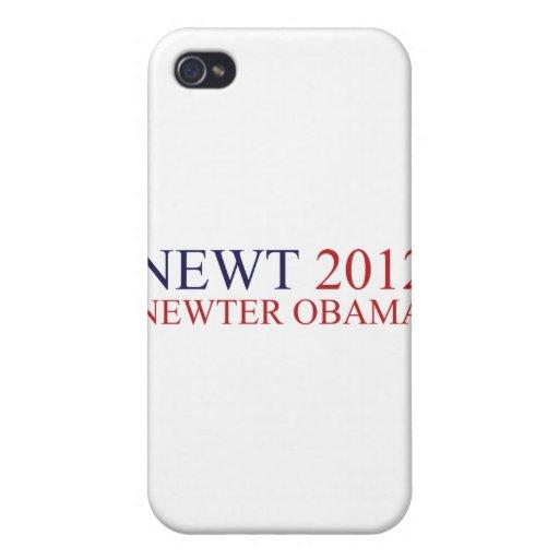 Newter Obama iPhone 4/4S Carcasa