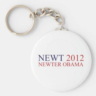 Newter Obama Keychain