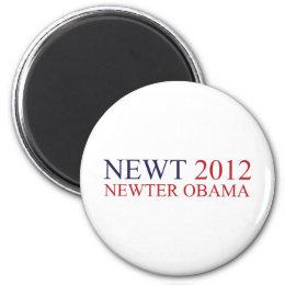 Newter Obama Magnet