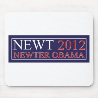 Newter Obama Mouse Pad