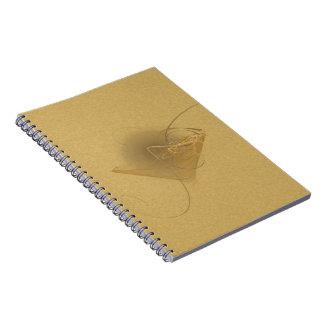 Newtini Faery Martini Art Spiral Notebooks