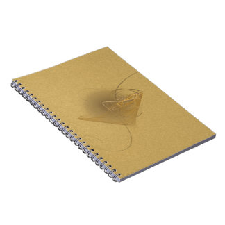 Newtini Faery Martini Art Spiral Notebook