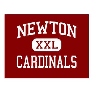 Newton - cardenales - mayor - Newton Iowa Tarjeta Postal