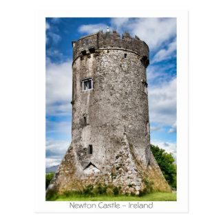 Newton Castle Postcard