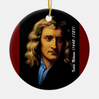 Newton Ceramic Ornament