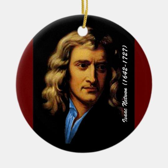 Newton Ceramic Ornament
