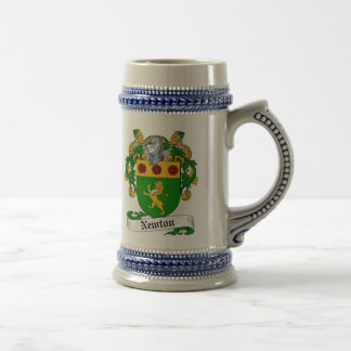 Newton Coat of Arms Stein - Family Crest