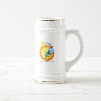 Newton Elliptical Orbits Beer Stein