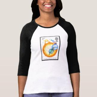 Newton está en órbita la ropa de las señoras camiseta