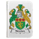 Newton Family Crest Kindle 3G Covers