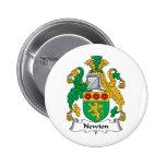 Newton Family Crest Pinback Button