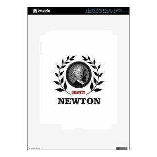 newton gravity iPad 3 decal
